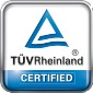 Platinum Tuv Rheinland certified