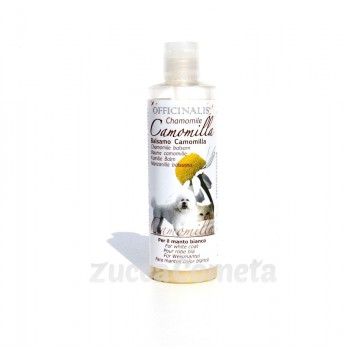 Balsamo Pet Camomilla - per manto bianco - Officinalis