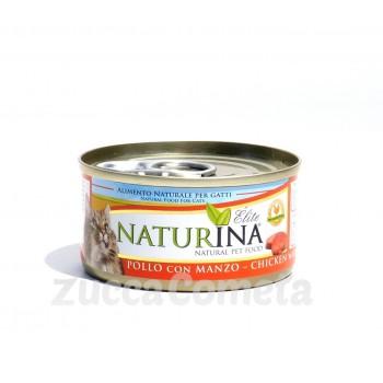 Naturina Élite - Pollo con Manzo - 70g - gatto