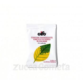 S 5 radicale - concime rinverdente chelato di ferro in polvere - Cifo