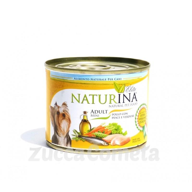 https://www.zuccacometa.com/212-thickbox_default/elite-mini-adult-cane-pate-con-pezzetti-pollo-pesce-verdure-200g-naturina.jpg