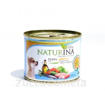 Puppy mini Naturina Élite  - Pollo con Pesce e Verdure 200g - cuccioli cane piccola taglia