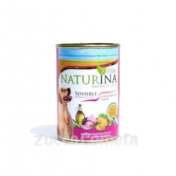 Sensible Naturina Élite - Paté monoproteico Coniglio con Patate - 400g - cane