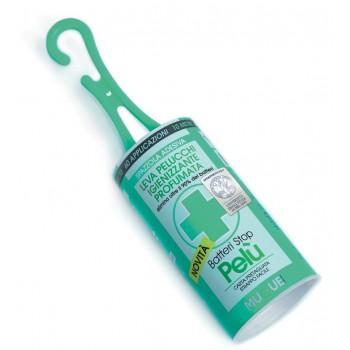 Pelù Batteristop - spazzola adesiva leva pelucchi, antibatterica, profumata - Mugue