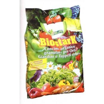 BioStark - concime organico granulare per orti e giardini  5 kg - Al.fe