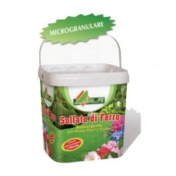Solfato di Ferro - rinverdente prato, fiori, piante - Alfe