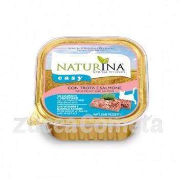 Naturina Easy: con Trota e Salmone - 100g - gatto