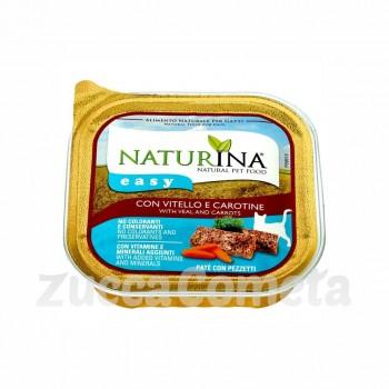 Naturina Easy: con Vitello e Carotine - 100g - gatto