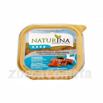 Naturina Easy: con Pollo e Verdurine - 100g - gatto