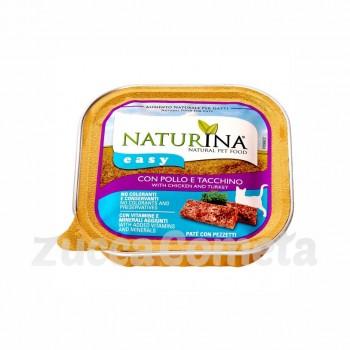Naturina Easy: con Pollo e Tacchino - 100g - gatto