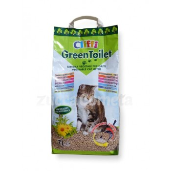Greentoilet - lettiera vegetale gatti - Cliffi