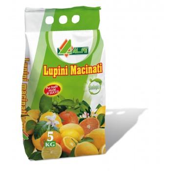 Lupini macinati 5 Kg - per agrumi e piante acidofile - Al.fe