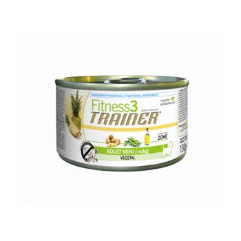Fitness3: Vegetal 150g - Mini Adult cani - Trainer