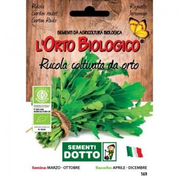 Rucola coltivata da orto, da taglio - Orto Biologico - Sementi Dotto