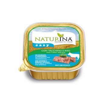 Naturina Easy Cane - paté con Tacchino e Riso - 150g