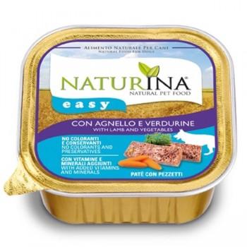 Naturina Easy Cane - paté con Agnello e Verdurine - 150g