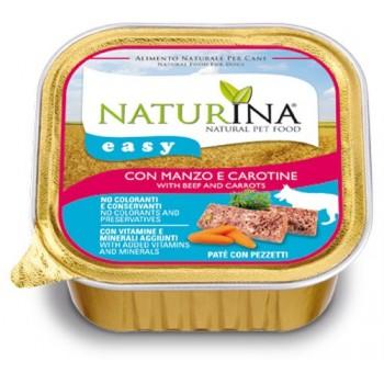 Naturina Easy Cane – paté con Manzo e Carotine - 150g