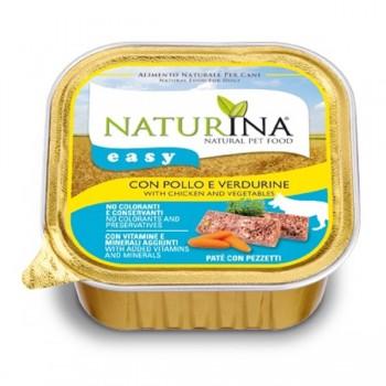 Naturina Easy Cane – paté con Pollo e Verdurine - 150g