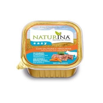Naturina Easy Cane – paté con Salmone e Verdurine - 150g