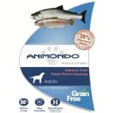 Grain Free/Salmone, Trota, Patate dolci e Asparagi – Animondo - cane adulto
