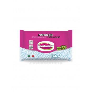 Referesh Bio profumo di Talco - Salviette detergenti - Inodorina