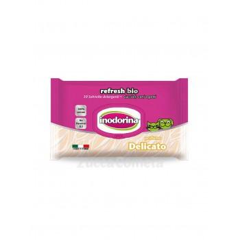 Refresh Bio Profumo Delicato - Salviette detergenti - Inodorina