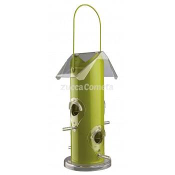 Casetta verde-contenitore per distribuire cibo agli uccellini - Trixie