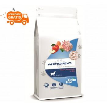Cane adulto - Maiale, Patate dolci e Mele/Grain Free 2/6 kg - Animondo