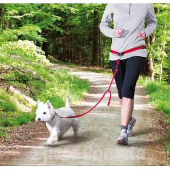 Jogging con Fido - cintura in vita con guinzaglio - Trixie