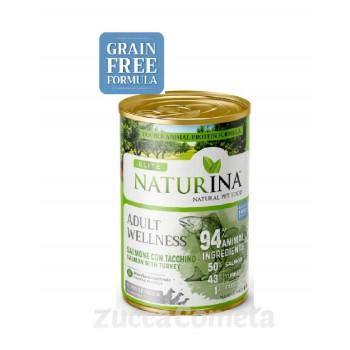 Wellness Naturina Élite – salmone con tacchino 400g - cane