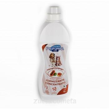 Detergente igienizzante concentrato pavimenti e cucce – Mango e Papaya - Profumina
